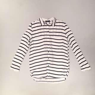 Bershka striped shirt