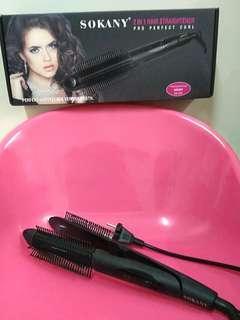 2 in 1 Hair Straightener #PRECNY60