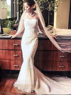 Bridal wedding gown