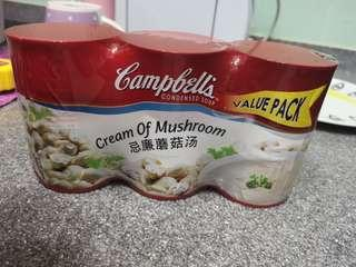 Campbell 3 cans