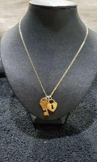 Necklace 2 toned