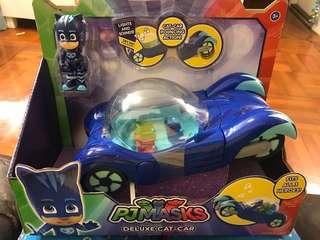 New - P j masks deluxe car car