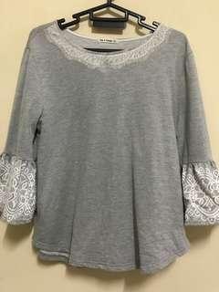 🔖Preloved Grey Garage Shirt