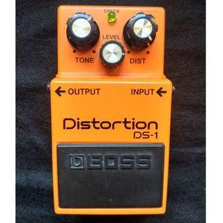 Guitar Effects Boss DS1 Distortion Overdrive