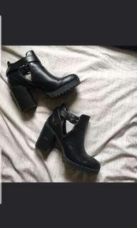 Authentic Pull and Bear Ankle Buckle Boots