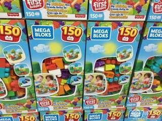 MEGA BLOKS 建築積木組  150片