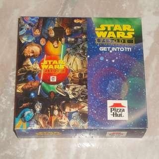Star Wars Jigsaw Puzzle 1999 Episode 1 Queen Amidala Yoda KFC Pizza Hut Premium