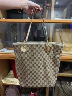 Gucci Canvass Tote Bag