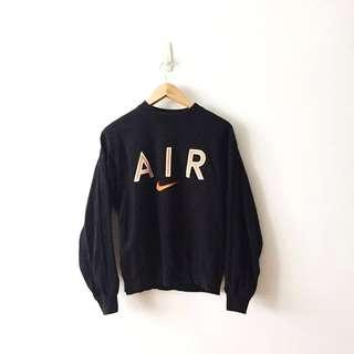 Nike Air Vintage Dope Embroidery Swoosh Logo Pullover Sweater