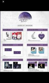(MY GO) BTS RM & V exhibition in Singapore goods Me & You