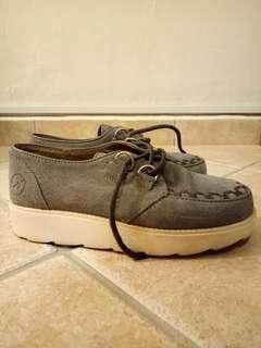 Bronx velvet shoes