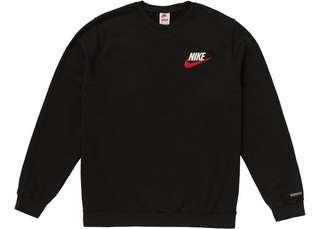 Nike x Supreme Crewneck - Black (Size: M)