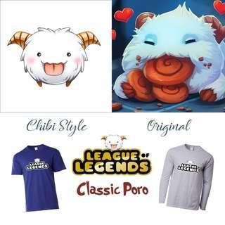 🚚 Classic Poro Merch / League Of Legends Items, Shirts, Hoodie, Cups / Gifts for Him / Her / Friends