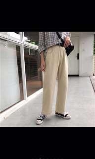 🚚 杏色長褲