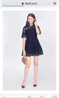 Fayth charlyn lace dress