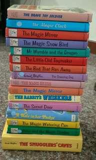 16 Enid Blyton story books