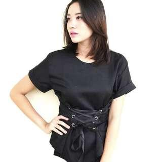 Black Top with Band