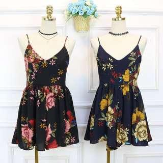 🆕 READY STOCK FLORAL ROMPER