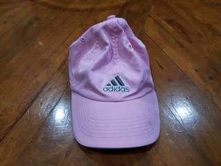 Authentic Adidas pink baseball cap