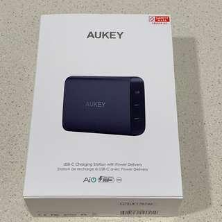 Aukey 72W with 3 ports with 60W PD Charger