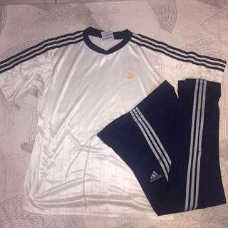 Adidas Football Jersey and Track Pants