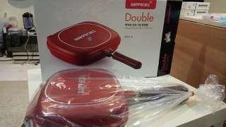 Brand New Happycall Jumbo Grill Double Pan happy call