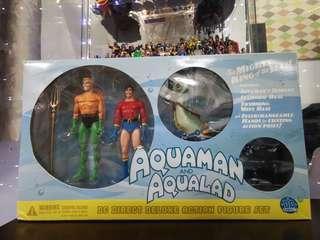 Aquaman & Aqualad (DC Direct Deluxe Action Figure Set)