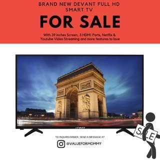 Brand New Devant Full HD Smart TV 39LTV900