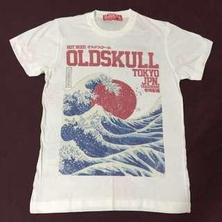 (New) Old Skull brand Tshirt