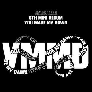 [3 ver+3 poster] Seventeen you made my dawn album