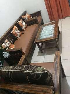 Sofa Kayu 3 1 1