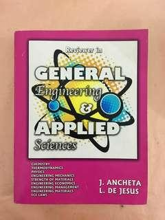 General Engineering & Applied Sciences by J. Ancheta and L De Jesus