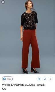 Wilfred Lapointe blouse- Aritzia