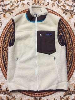 🚚 patagonia (14's) retro x vest size:S
