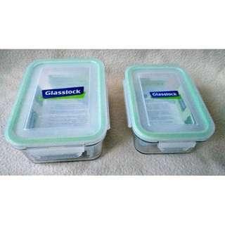 🚚 Glasslock 格拉氏洛克 強化玻璃保鮮盒 2入