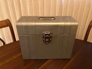 Vintage Union Steel File Box