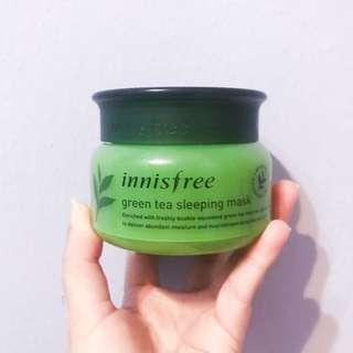 Innisfree Green Tea Sleeping Pack (98% left) BUY ONE, GET SECOND ITEM 30% OFF FROM MY LISTING