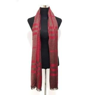 Maroon/Red Scarf