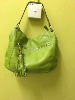 Authentic Michael Kors leather bag