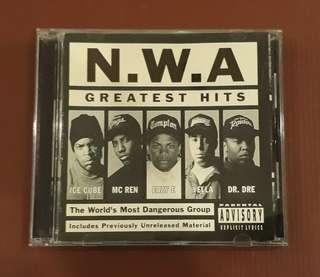 CD N.W.A - Greatest Hits ( Made in Holland )
