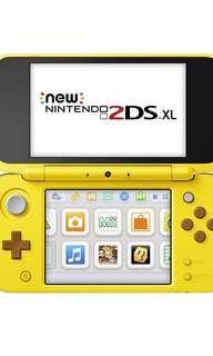🚚 Nintendo 2DS XL - Pikachu Edition