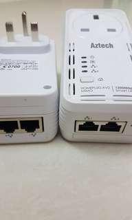 Aztech Smartlink home plug AV2- 1200 mbps