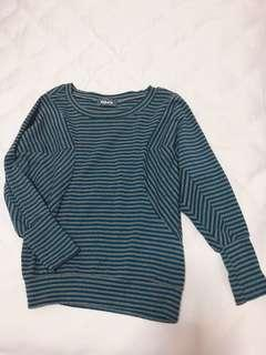 Stripe Blue Top