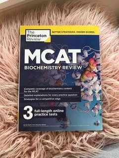 MCAT Biochemistry Review