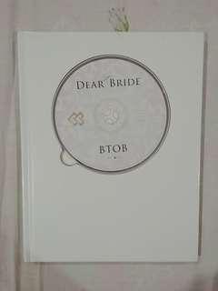 [RARE] BTOB Dear Bride Limited Edition (Japanese Single)