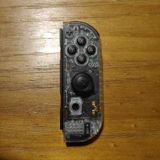 Modded Transparent Right Joy Con