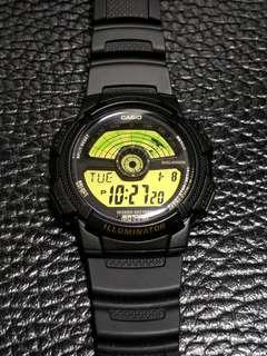 Casio G-shock 世界時間運動手錶