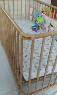 Germany Made Baby Cot / Baby Cot (price reduced)