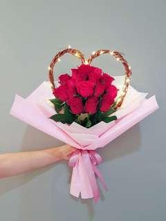 Flower Bouquet for Valentine's dsy