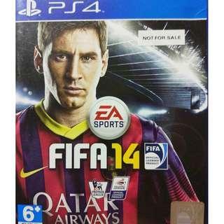 Used Playstation 4 PS4 Fifa 14 Region 3 (NEAREST MRT)